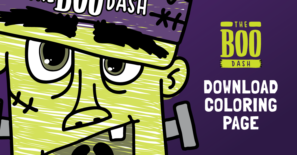 The Boo Dash Coloring Contest 2018